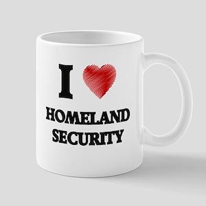I love Homeland Security Mugs