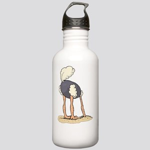 Ostrich Head in Sand t Stainless Water Bottle 1.0L