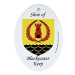 Blackwater Keep Oval Ornament