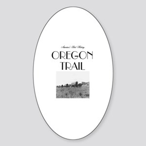 ABH Oregon National Historic Trail Sticker (Oval)