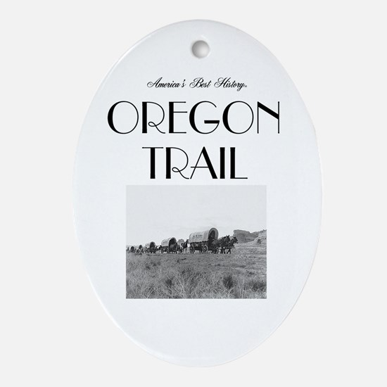 ABH Oregon National Historic Trail Oval Ornament