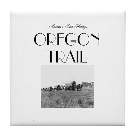 ABH Oregon National Historic Trail Tile Coaster