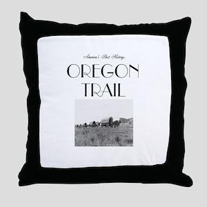 ABH Oregon National Historic Trail Throw Pillow