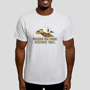 ABH Oregon National Historic Trail Light T-Shirt