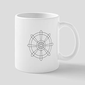 Dharma wheel Mugs