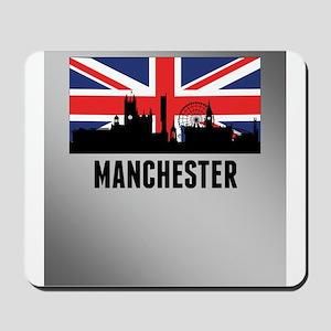 Manchester British Flag Mousepad