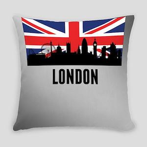 London British Flag Everyday Pillow