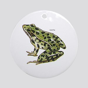 Leopard Frog Ornament (Round)