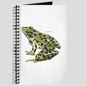 Leopard Frog Journal