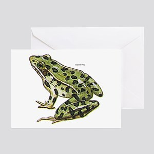 Leopard Frog Greeting Cards (Pk of 10)