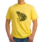 Leopard Frog Yellow T-Shirt