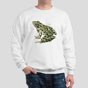 Leopard Frog (Front) Sweatshirt