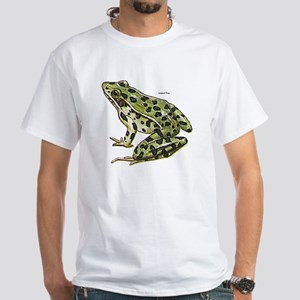 Leopard Frog (Front) White T-Shirt
