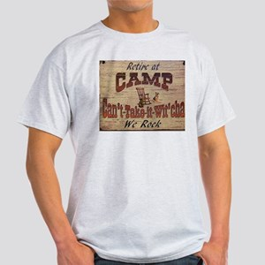 Retire at Camp T-Shirt