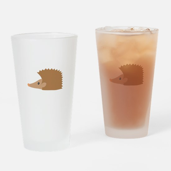 Porcupine face Drinking Glass