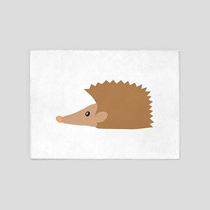 Porcupine face 5'x7'Area Rug
