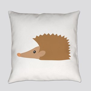 Porcupine face Everyday Pillow
