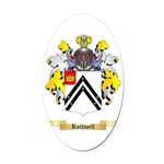 Rothwell Oval Car Magnet