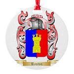 Roston Round Ornament
