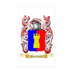 Rosthorn Sticker (Rectangle 50 pk)