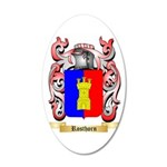 Rosthorn 35x21 Oval Wall Decal