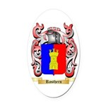 Rosthern Oval Car Magnet