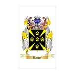 Rosser Sticker (Rectangle 50 pk)