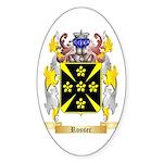 Rosser Sticker (Oval 50 pk)