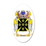 Rosser 35x21 Oval Wall Decal