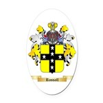 Rossall Oval Car Magnet