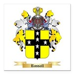 Rossall Square Car Magnet 3