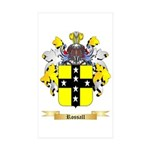 Rossall Sticker (Rectangle 10 pk)