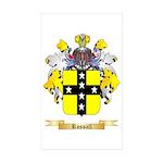 Rossall Sticker (Rectangle 50 pk)