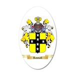 Rossall 20x12 Oval Wall Decal
