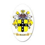 Rossall 35x21 Oval Wall Decal