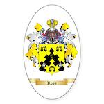 Ross (Ireland) Sticker (Oval 10 pk)