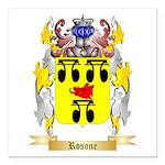 Rosone Square Car Magnet 3