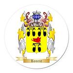 Rosone Round Car Magnet