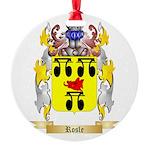 Rosle Round Ornament