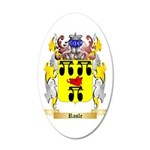 Rosle 35x21 Oval Wall Decal