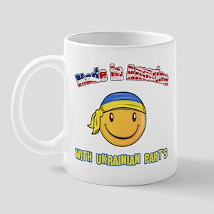 Made in America with Ukrainian parts Mug
