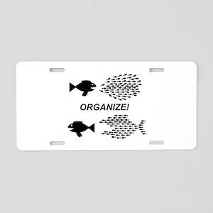 Organize Aluminum License Plate