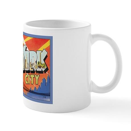 New York City Postcard Mug