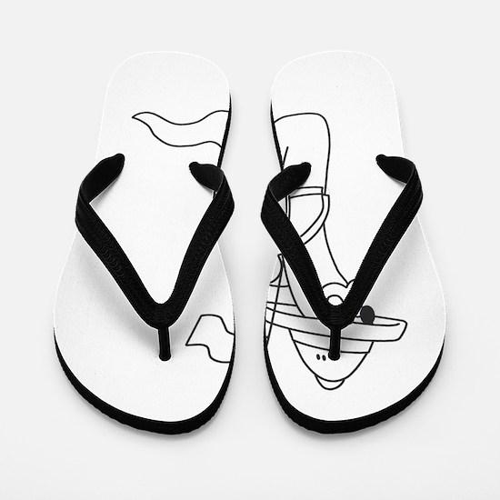 Slug Military Flip Flops