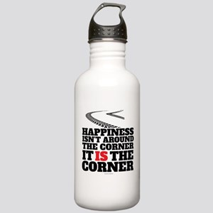 Happiness Isn't Around Stainless Water Bottle 1.0L