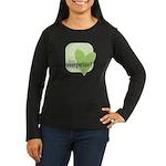 It's a surprise! Women's Long Sleeve Dark T-Shirt