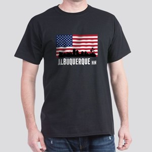 Albuquerque NM American Flag T-Shirt