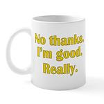 No Thanks Mug
