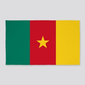 Flag of Cameroon Area Rug