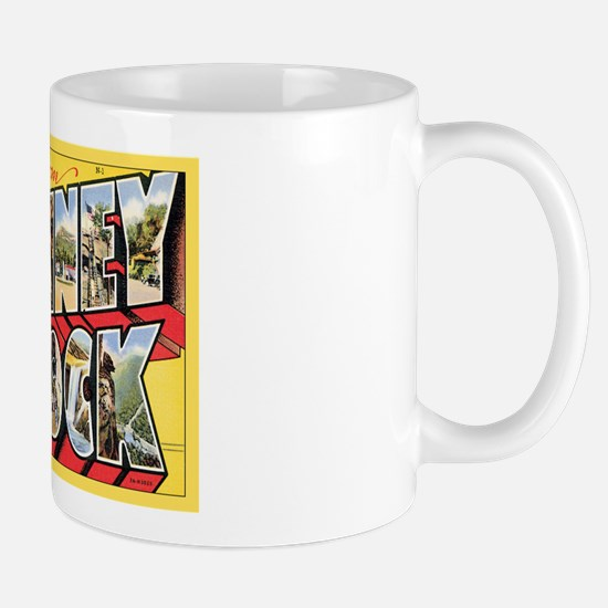 Chimney Rock Postcard Mug